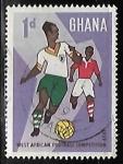 Sellos del Mundo : Africa : Ghana : Fútbol