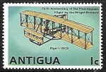 Sellos del Mundo : America : Antigua_y_Barbuda : Flyer I (1903)