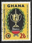 Sellos del Mundo : Africa : Ghana : Kwame Nkrumah Gold Cup