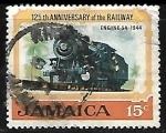 Sellos del Mundo : America : Jamaica : 125 años del ferrocarril