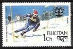 Sellos del Mundo : Asia : Bhután : Juegos Olimpicos de Invierno - Innsbruck