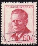 Sellos del Mundo : Europa : Checoslovaquia : INT-ANTONIN NOVOTNY