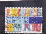 Sellos de Europa - Holanda -  UNIÓN EUROPEA