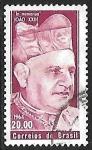 Sellos de America - Brasil -  En memoria del Papa Joao XXIII