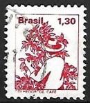 Sellos de America - Brasil -  Profesiones - Colhedor de Cafe