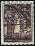 Sellos del Mundo : Europa : Francia : Vitral de Catedral de Chartres