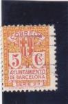 Sellos de Europa - España -  AYUNTAMIENTO DE BARCELONA (34)