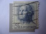 Sellos de America - Estados Unidos -  George Washington (1732-1799) Padre de la Patria - Primer Presidente de USA.