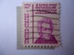 Sellos de America - Estados Unidos -  Andrew Jackson (1767-1845), seventh president of the U.S.A (1829/37)
