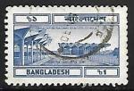 Sellos del Mundo : Asia : Bangladesh : Estación de tren Kalamapur - Dhaka