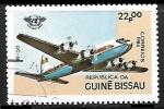 Sellos de Africa - Guinea Bissau -  DC-68 - 40 aniversario de la aviación civil