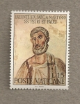 Sellos de Europa - Vaticano -  Martirio S. Perdo y Pablo