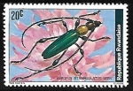 Sellos del Mundo : Africa : Rwanda : Escarabajo