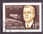 Sellos de Europa - Hungría -  serie- Astronautas