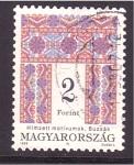 Sellos de Europa - Hungría -  serie- Tapices