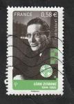 Sellos de Europa - Francia -  4812 - Léon Zitrone, pionero de la televisión