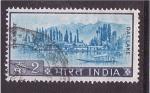 Sellos de Asia - India -  Lago Dal