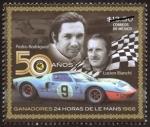 Sellos del Mundo : America : México : 50 Aniv Ganadores 24hrs de Le Mans
