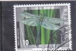 Sellos de Europa - Suiza -  libélula- anax imperator