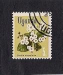 Sellos del Mundo : Africa : Uganda : plantas