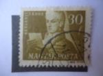 Sellos de Europa - Hungría -  Batsanyi János (1763-1845) - Poeta luchador por la Libertad Húngara.