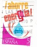 Sellos del Mundo : Europa : España : Ahorra energía ! (38)