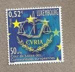 Sellos del Mundo : Europa : Luxemburgo : 50 Años Tribunal Justicia Europeo