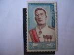 Sellos de Asia - Laos -  King Savang Vatthana (1862-1955)- Coronación.