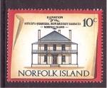 Sellos de Oceania - Australia -  serie- Edificios históricos