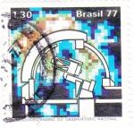 Sellos de America - Brasil -  SESQUINCENARIO DEL OBSERVATORIO NACIONAL
