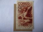 Sellos de America - México -  Símbolo de Vuelo - Hombre en vuelo.