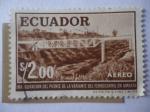 Sellos de America - Ecuador -  Puente Ferroviario de Armato