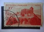 Sellos de Europa - Francia -  Saind-Bertran de Comminges - En la Ciudad de San Beltrán de Comminges.