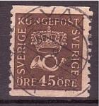 Sellos de Europa - Suecia -  Correo postal