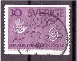 Sellos del Mundo : Europa : Suecia :  Centenario correo local