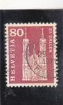 Sellos de Europa - Suiza -  CATEDRAL DE ST.GALLEN