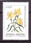 Sellos de America - Argentina -  serie- Flores