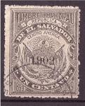 Sellos de America - El Salvador -  Timbre Municipal