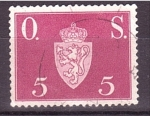 Sellos de Europa - Noruega -  Escudo de Armas