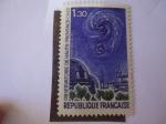 Sellos de Europa - Francia -  Observatorio de Alta Provenza-C.N.R.S. - Astronomía.