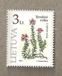 Sellos del Mundo : Europa : Lituania : Erica tetralis
