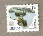 Sellos del Mundo : Europa : Lituania : Lagos de Trakai