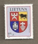 Sellos del Mundo : Europa : Lituania : Escudo de Roskiskis