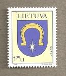 Sellos del Mundo : Europa : Lituania : Escudo de Utena