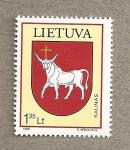 Sellos del Mundo : Europa : Lituania : Escudo de Kaunas