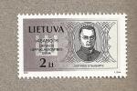 Sellos del Mundo : Europa : Lituania : Justinas Staugatis