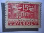 Sellos de Europa - Suecia -  Parlamento.