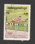 Sellos de Asia - Camboya -  Juegos olímpicos 1984