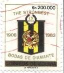 Sellos del Mundo : America : Bolivia : 75 Aniversario del club The Strongest, Bodas de Diamante