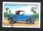 Sellos del Mundo : Africa : Chad : Automoviles Antiguos